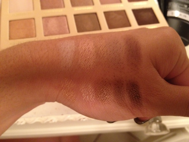 LORAC UNZIPPED SWATCHES